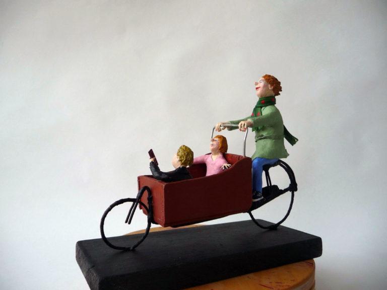 Op weg met bakfiets