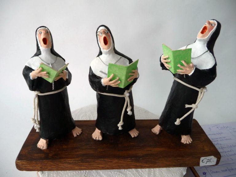 Drie zingende nonnen