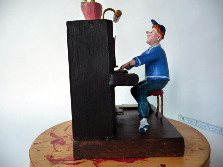 Jonge pianist