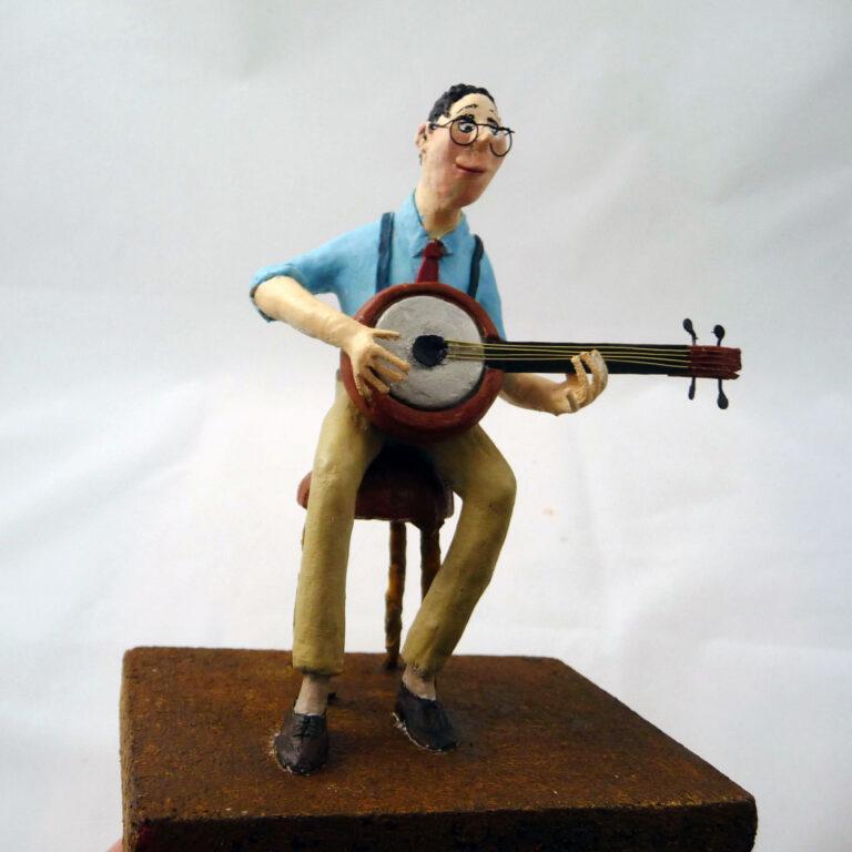 Banjo speler